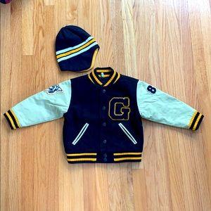 Boys Gap Varsity Jacket